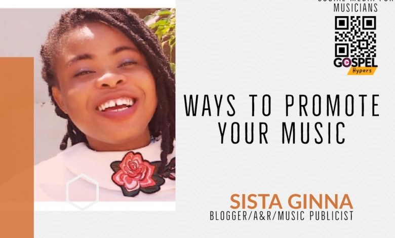 Music Marketing and promotion Sista Ginna