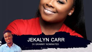 Photo of Bra Banie to Host 3x Grammy Nominated Gospel Singer Jekalyn Carr on Christian Vibes Gh Live.