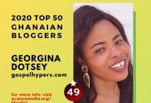 Photo of Gospel Blogger, Sista Ginna listed among TOP 50 Ghanaian Bloggers for 2020 — Check Full List