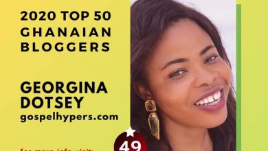 Photo of Gospel Blogger, Sista Ginna listed among TOP 50 Ghanaian Bloggers for 2020 — Check Full List