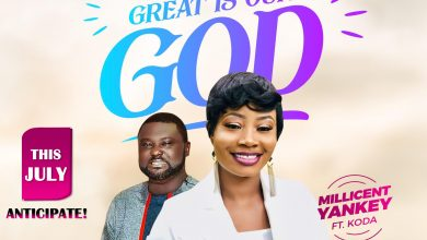 "Photo of Millicent Yankey is set to unveil her new video ""GREAT IS OUR GOD"" with Koda"