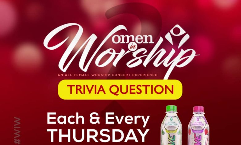 Verna Active Sponsors Women In Worship Trivia Thursdays