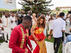 Top 30 Photos from Joe Mettle and Wife's traditional wedding