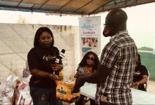 "Photo of Organizers of ""Women in Worship"" donate items to Teshie Orphanage Home"