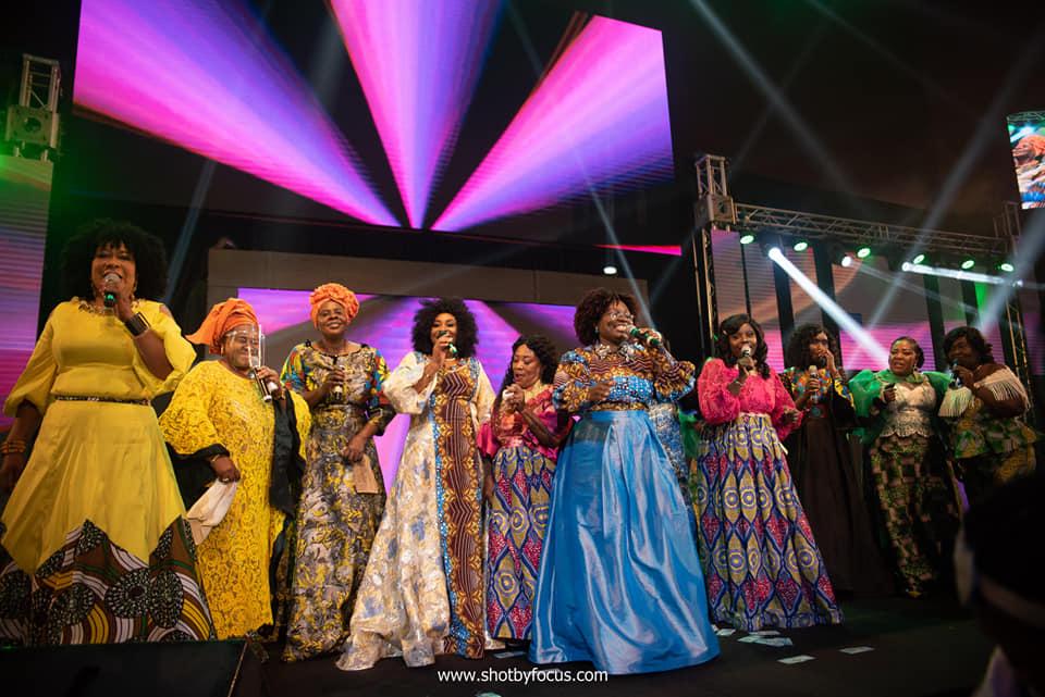 Amy Newman, Esther Nyamekye, Abaawa Cone, Bernice Offei, Stella Seal, Tiwaa, Helena Rabbles, Tagoe Sisters and Hannah Marfo.