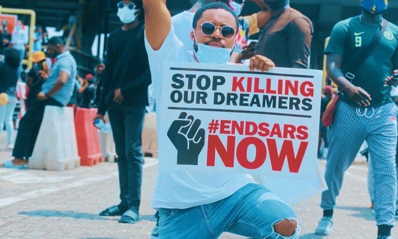 #EndSARS: Nigerian Gospel Musicians, Steve Crown, Onos, Tim Godfrey Join Protest
