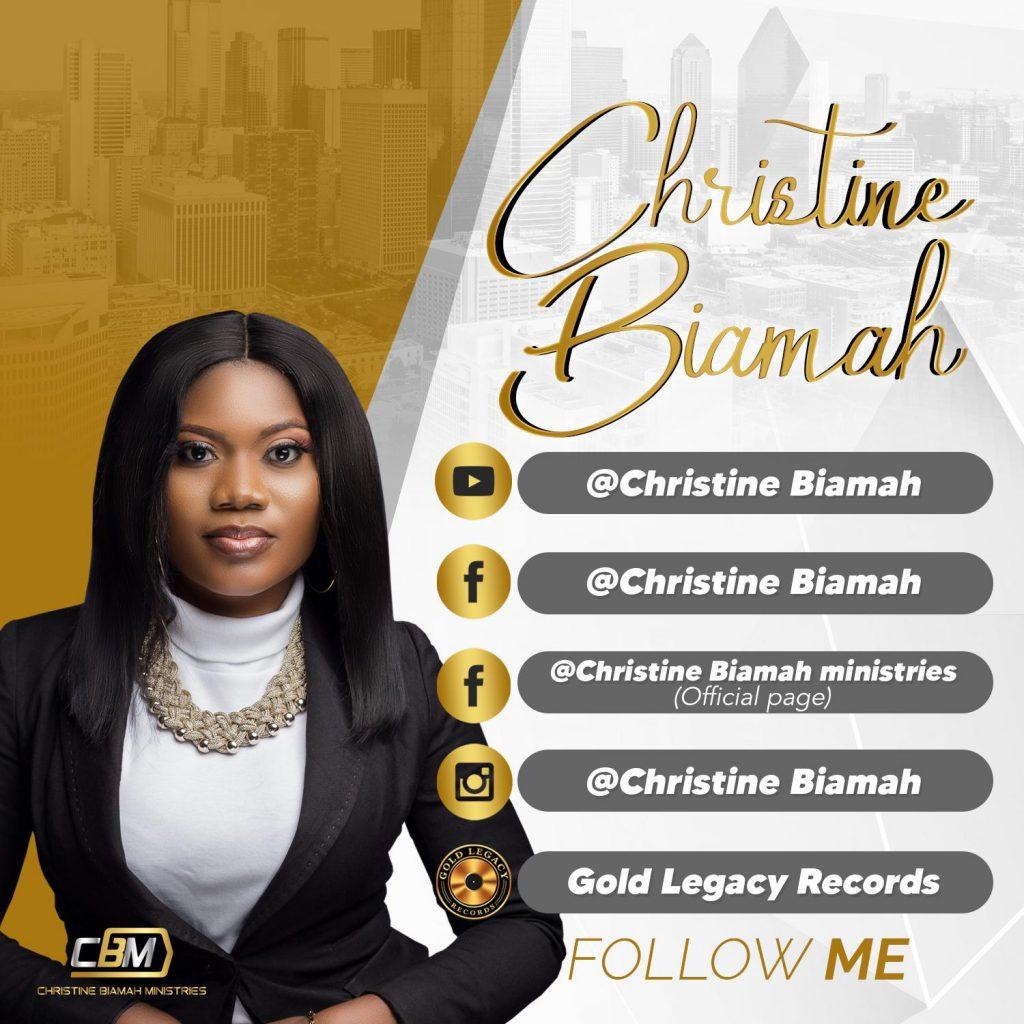 """NHYIRA"" Gospel Artiste Christine Biamah Drops Her New Single"