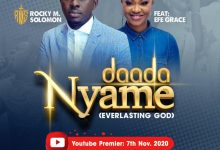 Photo of 'Daada Nyame' Rocky M Solomon Features Efe Grace
