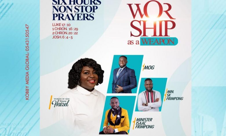 """Worship As A Weapon"""" By"""