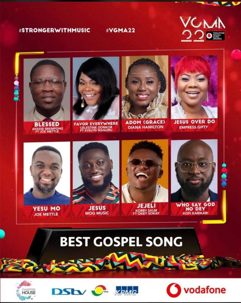 2021 VGMA Nominees: Urban Gospel Artiste Kobby Salm Makes His Debut Entry