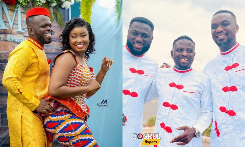 Gospel Music Celebrities Turned Up For The Wedding Of Footprints Tv CEO Albert Acheampong.