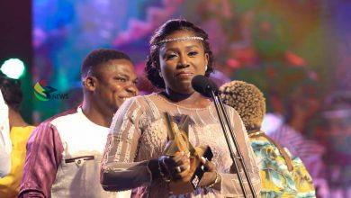 Photo of Diana Hamilton Wins VGMAs Artiste Of The Year Award