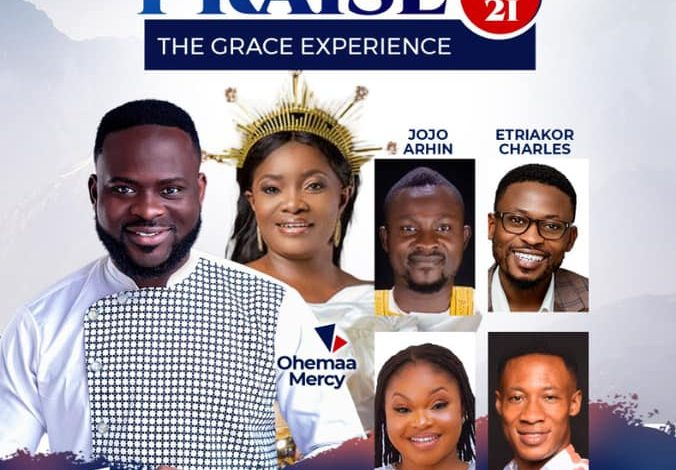 SK FRIMPONG, OHEMAA MERCY, JOJO ARHIN AND OTHERS ARE SET TO GRACE DYNAMIC PRAISE 2021