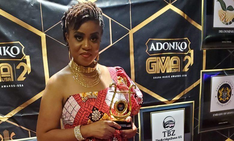 MAUREEN BINIYAM WINS US BASED UNCOVERED ARTISTE OF THE YEAR AT GHANA MUSIC AWARDS US